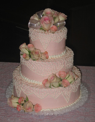 Wedding Cake Photo Album (click here)