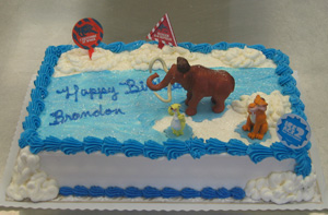 Images Of Ice Age Cakes