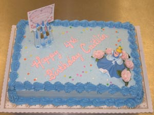 Birthday Cake Photo Album